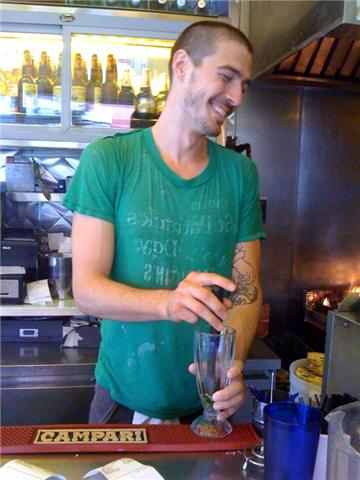 Mike at Cafe Habana