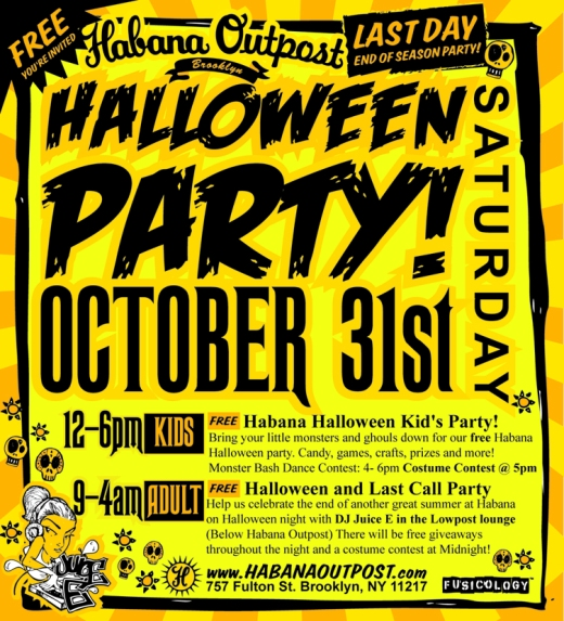 Halloween Party at Habana Outpost