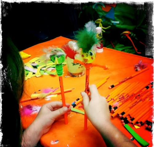 Pencil Puppets- Habana Outpost- Back to School