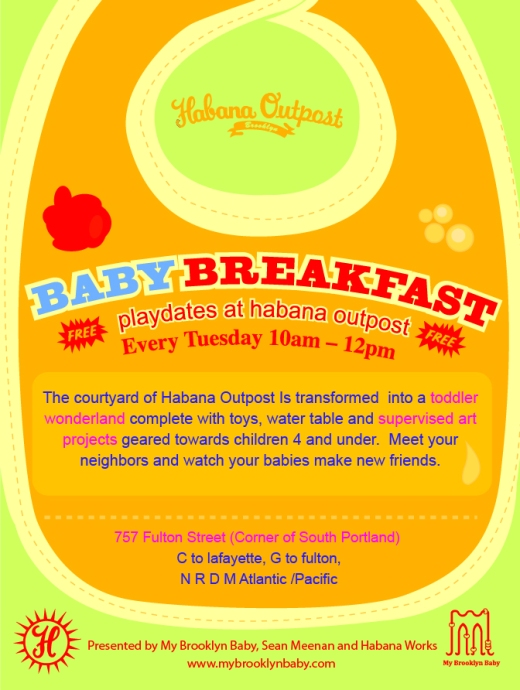 Baby Breakfast Play Date