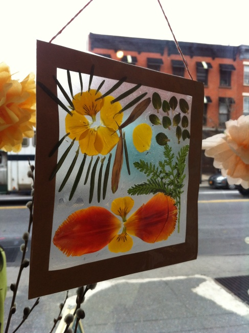 My Brooklyn Baby - Nature Collage Suncatcher