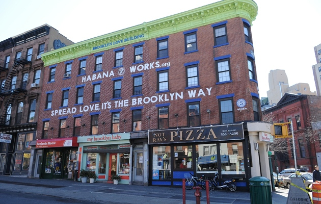 Sean Meenan's Brooklyn Love Building