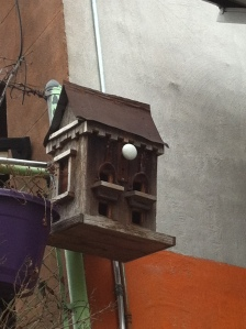 Panchio's Hand Carved Birdhouse at Habana Outpost
