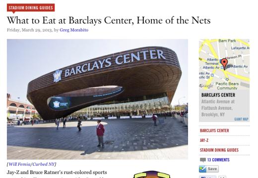 Habana Cuban Best Sandwich at Barclay's Center