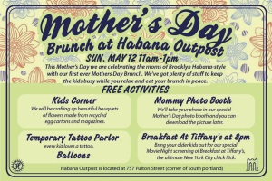 Mother's Day Brunch at Habana Outpost