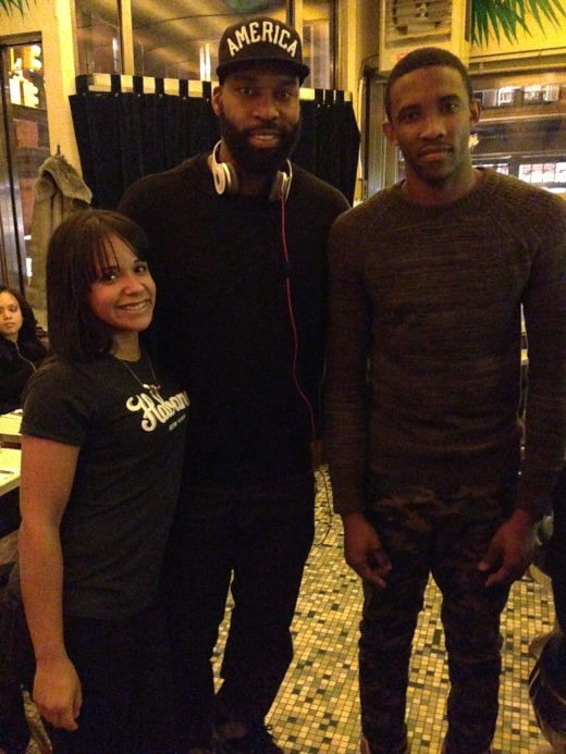 Baron Davis at Cafe Habana